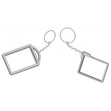 Брелок-литофан прямоугольный с индивидуальным изображением (40x50 мм)