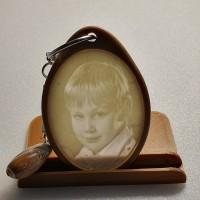 Литофан брелок Портрет мальчика
