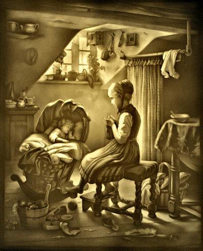Maman et Berceau